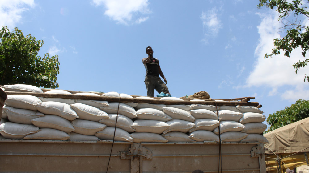 Humanitarian Relief Support to People Affected by Drought in